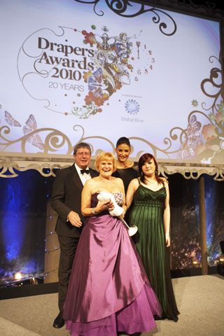 Drapers Lingerie Retailer of the Year 2010