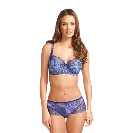 Fantasie Nicola Mosaic Blue short