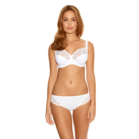 Fantasie Alex white brief