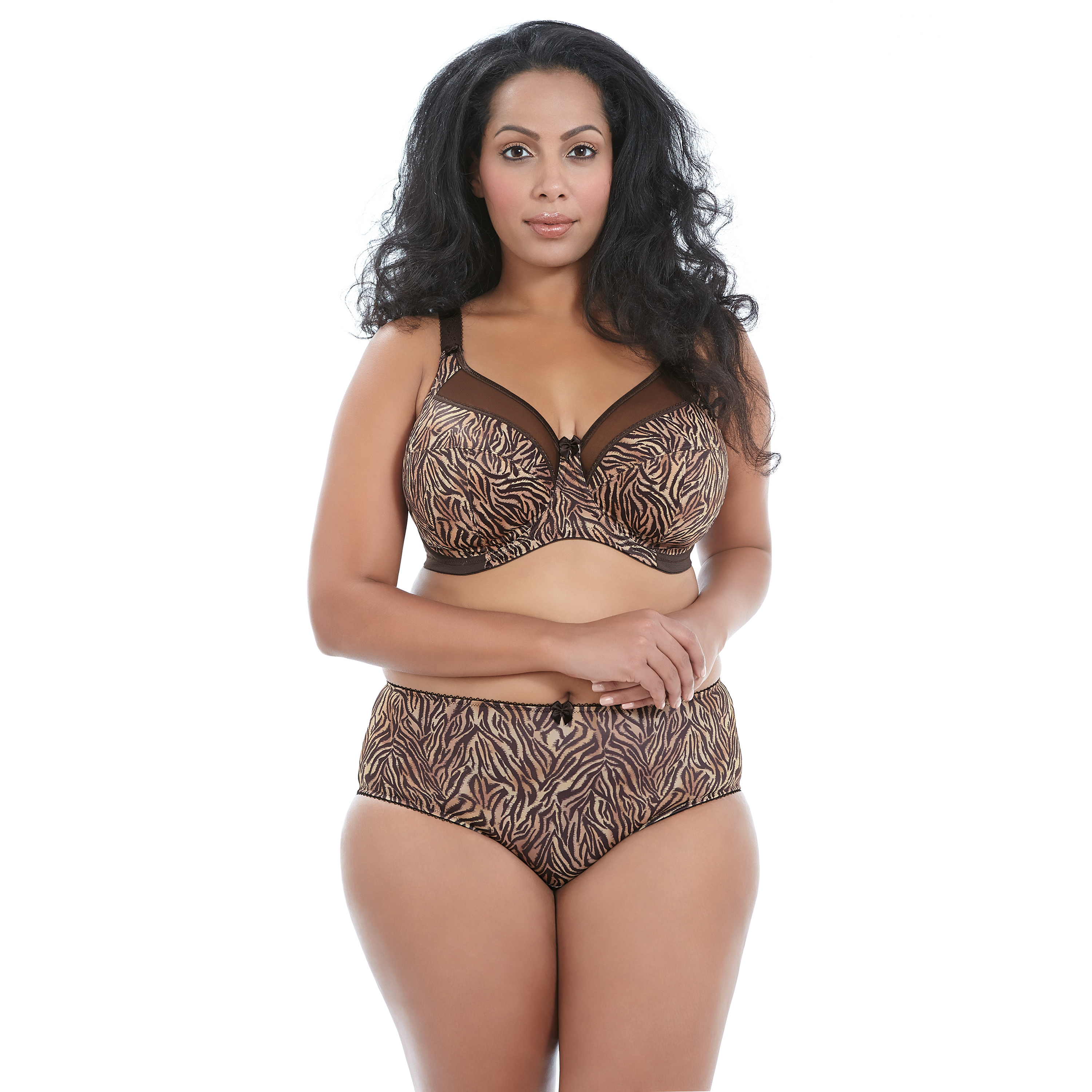 Goddess Kayla  Tiger Chocolate bra