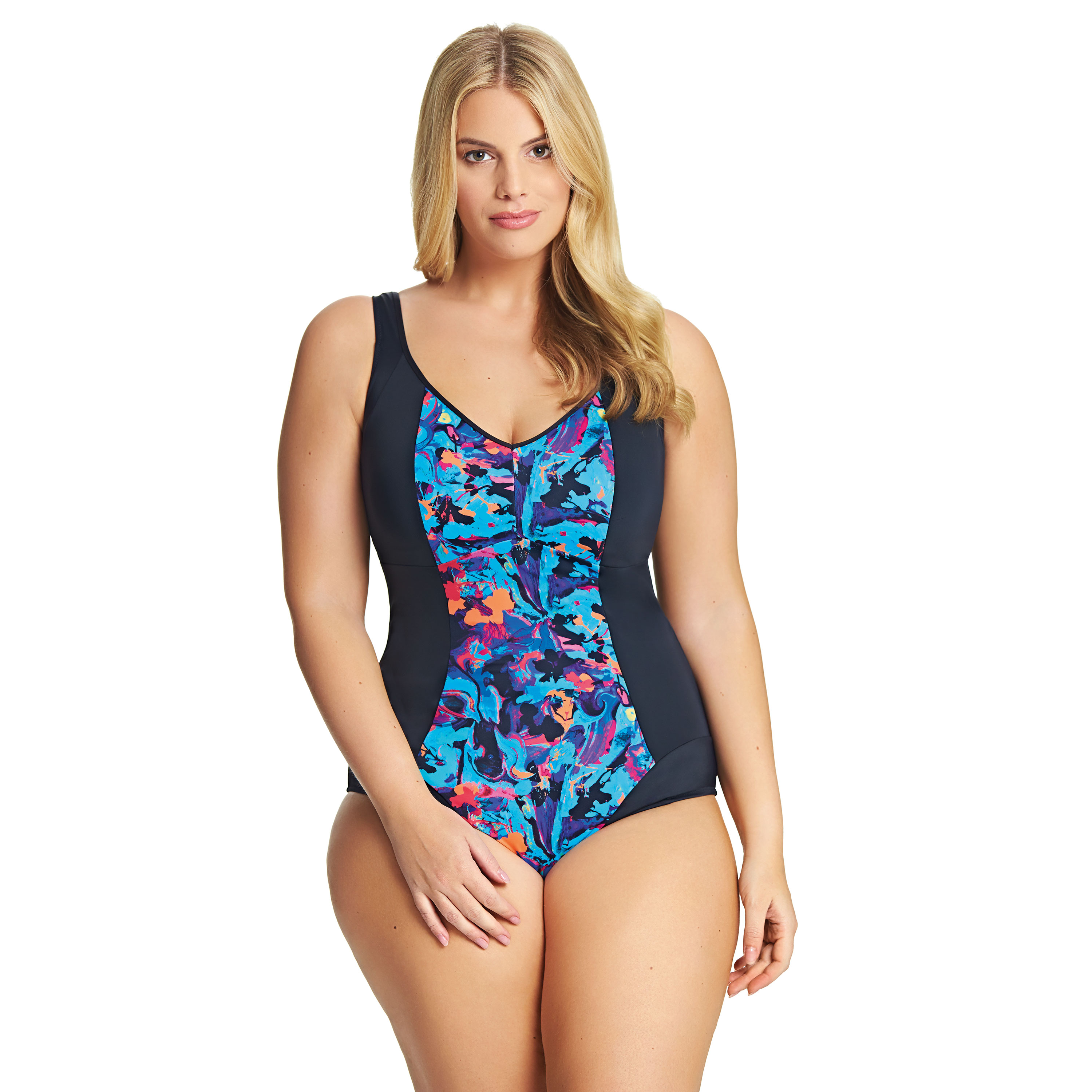 Elomi Abstract swimsuit