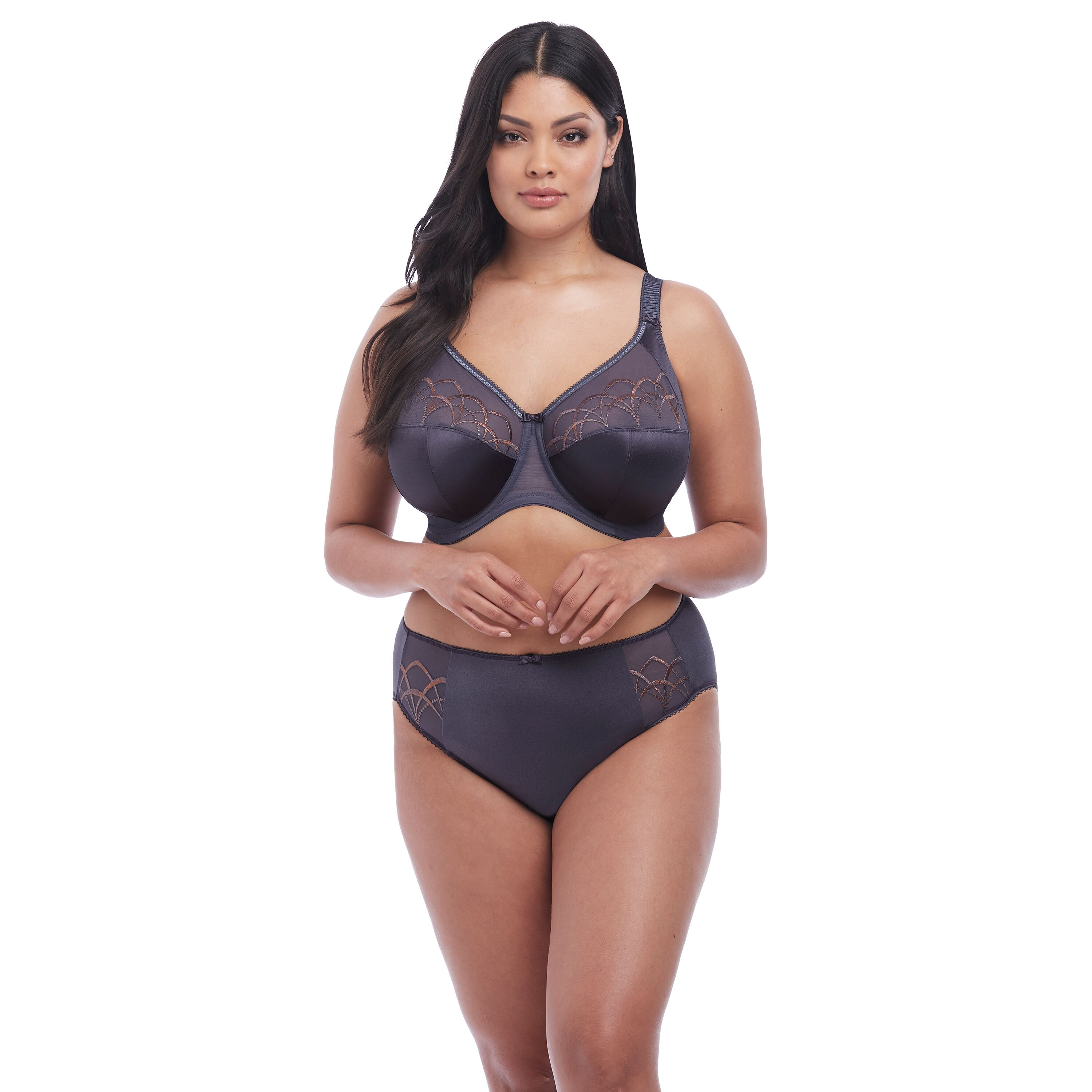 Elomi Cate Anthracite brief