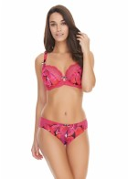 Freya Hot House Raspberry brief
