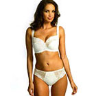 Fantasie Elodie thong in white & cappuccino